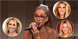 Ariana Grande khiến fan chết cười khi nhái giọng toàn diva