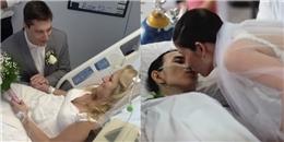 Những đám cưới đẫm nước mắt trong bệnh viện