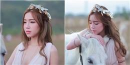 Dân mạng ngẩn ngơ trước hình ảnh của 'nữ thần' Elly Trần