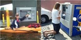 Những hình ảnh 'khó gặp' tại cây ATM