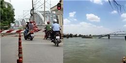Sập cầu Ghềnh, nhiều người rớt xuống sông