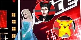 Phát hiện Elsa đi thi The Voice, chinh phục HLV... Pikachu