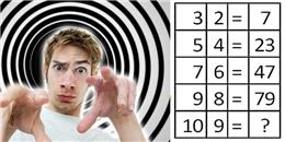 """Dân mạng """"điên não"""" vì bài toán """"dành riêng cho thiên tài"""""""