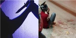 Truy sát ở Sài Gòn, nam thanh niên bị đứt lìa tay