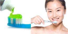 Tác hại kinh hoàng của việc dùng nhiều kem đánh răng