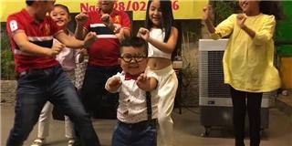 Ku Tin biểu diễn vũ điệu cồng chiêng cực chuyên nghiệp