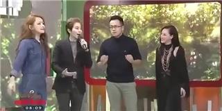 Gil Lê bất ngờ nắm tay Chi Pu cùng lên sân khấu hát  Love me more