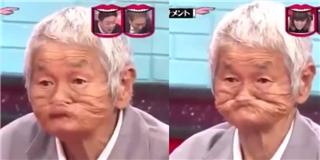 Choáng với gương mặt  bá đạo  của cụ già người Nhật