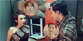 Thu Trang - Hải Triều - Diệu Nhi tung  Hậu duệ mặt trời  phiên bản bựa