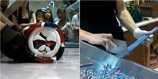 Cận cảnh qui trình làm kẹo có hình dáng như... kem đánh răng