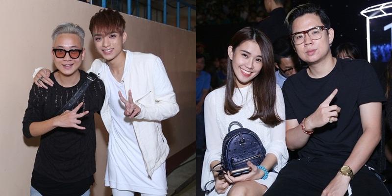 Justa Tee ủng hộ Soobin, Andree đến cùng Ngọc Thảo