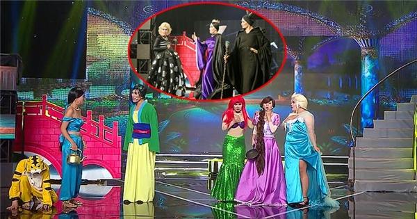 Thích thú xem Đôrêmon, Maleficent, Elsa cùng hội ngộ trên sân khấu Việt