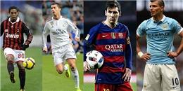"""Top 10 chuyên gia đá phạt đền ở Champions League: """"Ông vua"""" CR7 bỏ xa phần còn lại"""