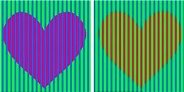 Chỉ đoán màu trái tim này thôi cũng khiến bạn 'nhũn não'