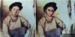 Trầm trồ trước 'mĩ nữ, soái ca' được chế tác trong sách giáo khoa