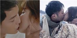 Những cảnh 'khóa môi' khiến fan rạo rực của Hậu Duệ Mặt Trời