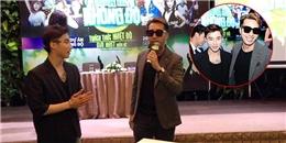 """Sơn Tùng hát bè, múa phụ họa cho OnlyC hát """"Em có yêu anh không"""""""