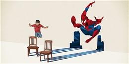 Đánh thức tuổi thơ qua nét vẽ cùng cuộc thi SuperHero