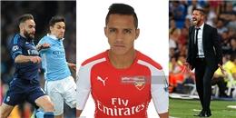 Điểm tin ngày 27/04: A. Sanchez sẽ rời bỏ Arsenal để tái hợp với Vidal