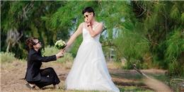 Cặp đôi 'hoán đổi giới tính' chụp ảnh cưới nổi tiếng nhờ diễn 'quá sâu'