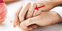 Tại sao chúng ta lại đeo nhẫn cưới ở ngón áp út?