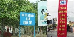 'Cười té ghế' với những câu khẩu hiệu siêu hài hước chỉ có ở Việt Nam