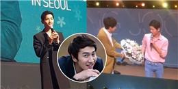 Fan 'sướng rơn' khi Lee Kwang Soo tặng hoa cho Song Joong Ki