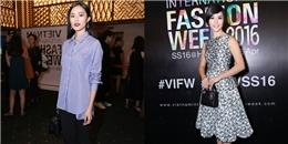 Rừng sao đổ bộ thảm đỏ đêm mở màn Vietnam International Fashion Week