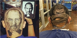 Mốt cắt tóc như vẽ tranh gây sốt cộng đồng mạng