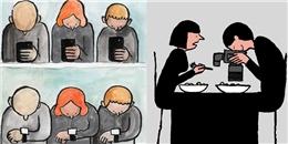 Hài hước với loạt ảnh 'Khi trong mắt bạn chỉ có điện thoại'