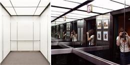 Vì sao trong thang máy thường đặt rất nhiều gương soi?