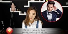 Gái xinh Hàn Quốc cover 'Nơi anh không thuộc về' bằng 2 thứ tiếng