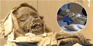 Cận cảnh xác ướp mẹ con ôm nhau 300 năm tuổi chưa từng thấy