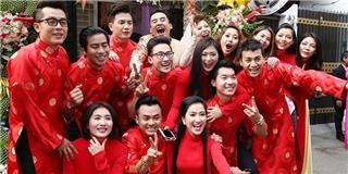 Clip: lời chúc phúc của các đồng nghiệp và diễn biến đáng yêu trong lễ cưới của Thế Thành - Thúy Diễm
