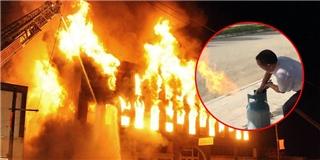 Học cách xử lí tình huống khẩn cấp khi bình gas xì hơi hay bốc cháy