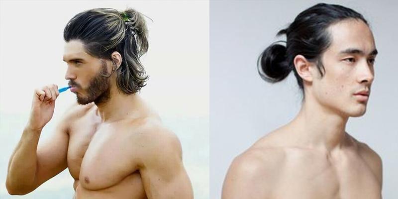 """12 kiểu tóc """"chất chơi"""" cho soái ca tóc dài"""