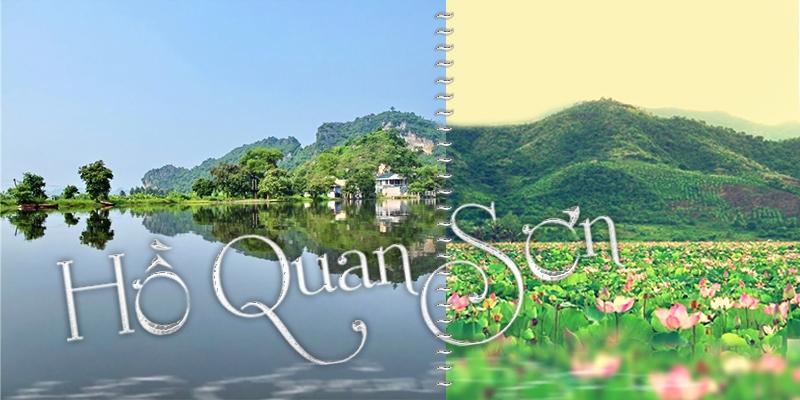 """Hồ Quan Sơn - tiên cảnh """"sát rạt"""" Hà Nội bạn phải đến thử"""