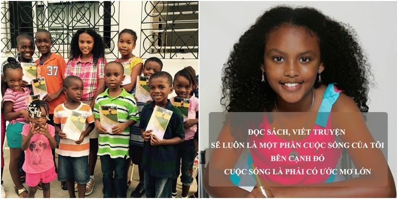Ngưỡng mộ bé gái 9 tuổi trở thành nhà văn trẻ nhất nước Mỹ