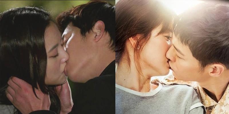 """""""Tan chảy"""" với cảnh khóa môi tình tứ của Song Joong Ki và bạn diễn nữ"""
