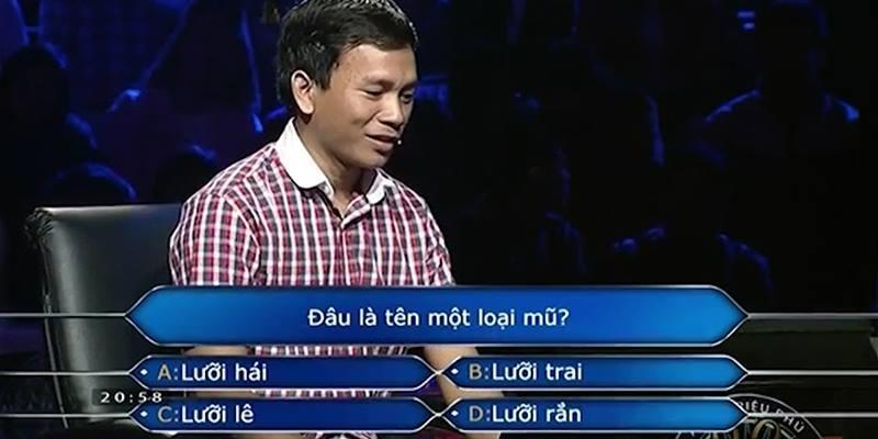 """Câu hỏi đầu tiên """"khó nhất"""" trên Ai là triệu phú khiến người chơi đổ mồ hôi"""