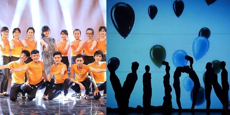 Phần trình diễn siêu ảo diệu của nhóm sinh viên khiến khán giả mãn nhãn