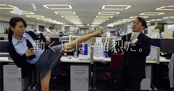Quảng cáo trị hôi chân bá đạo kiểu Nhật