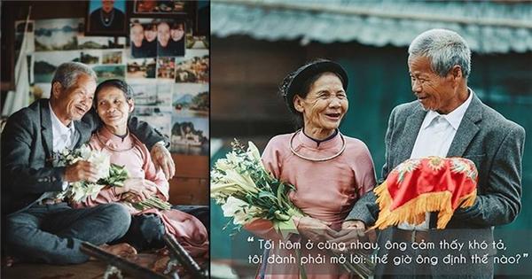 Cận cảnh 'đám cưới thế kỉ' của cụ già 'nhặt được vợ tại bãi rác'