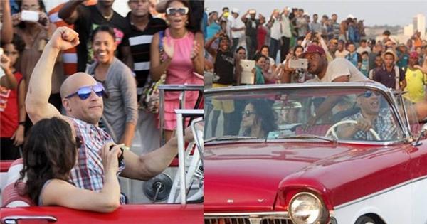 Ngắm qua hậu trường siêu hoành tráng của Fast & Furious 8 tại Cuba