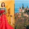 Hình ảnh hiếm hoi về đám cưới ở lâu đài cổ đẹp như mơ của Viên Hoằng