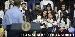 Tổng thống Obama yêu cầu Suboi đọc rap trước khi đặt câu hỏi