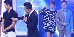 """Trấn Thành """"sàm sỡ"""" Trương Nam Thành, Hari Won """"cặp kè"""" Chí Tài"""