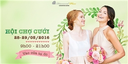 Đón mùa cưới với ưu đãi khủng tại hội chợ Saving Wedding 2016