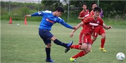 Công Phượng ghi bàn trong trận đấu tập với CLB hạng 5