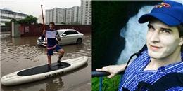 'Soi' lí lịch và dung nhan chàng Tây mở 'dịch vụ thuyền ôm' ở Hà Nội